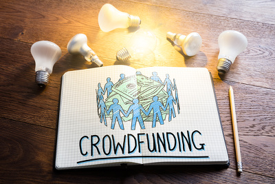 Write an article about your CROWDFUNDING in my business magazine