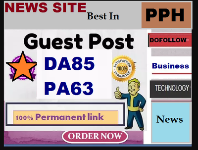 Do Guest Post On High Authority News Site DA 85 Blog