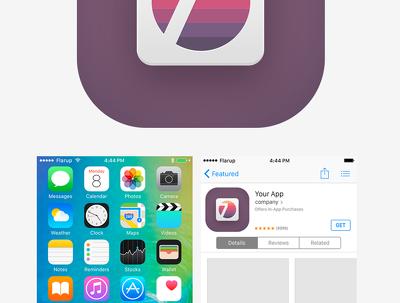 Design your app icon.