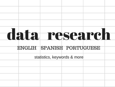 Research & provide database (100-200 entries)