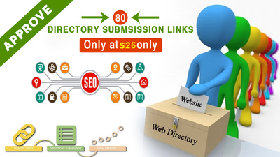 Create 80 Approve Directory Submission Links For Your Site