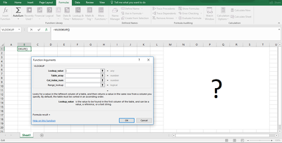 Cross Reference Multiple Excel Documents with VLOOKUPS