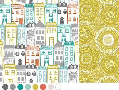 Design a bespoke seamless pattern