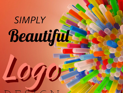 Design abstract minimalist and iconic logos