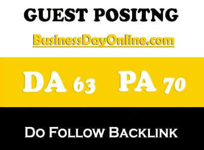Publish post on BusinessDayOnline – BusinessDayOnline.com DA 71