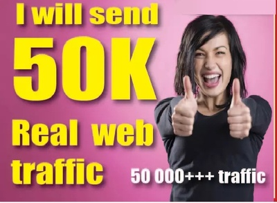 Drive 50 000 Quality Web Traffic To Your Website