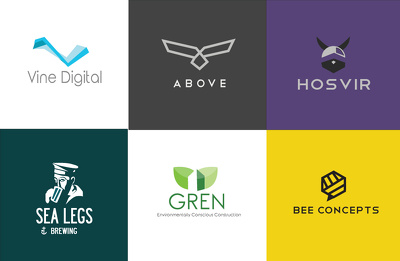 Create a vector Logo with unlimited concepts and revisions
