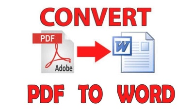 Convert PDF to Ms Word within few hours