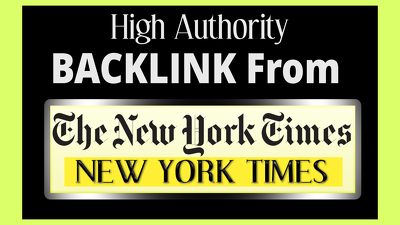 Get You HQ Random Backlink From New York Times / Nytimes