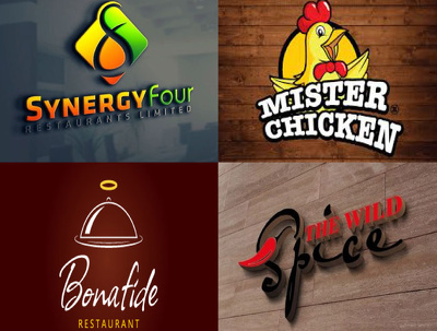Design Restaurant, Bakery And Coffee Shop Logo