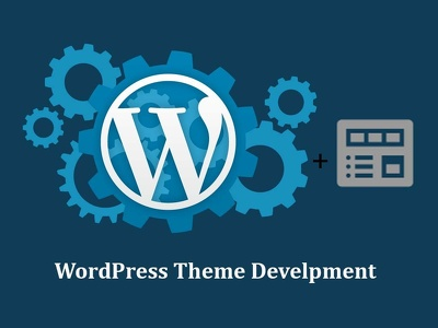 Develop one page WordPress theme with HTML template for