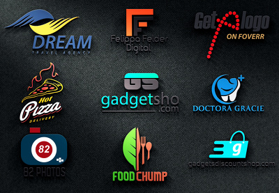 Design Modern Business Logo With Full Copyrights