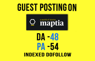 Guest Post On Travel Blog Maptia Da 54 Dofollow Google Indexable