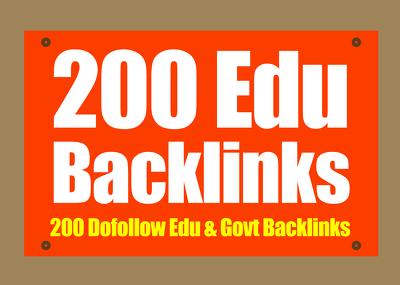 create 200 Dofollow EDU Backlinks Manually From Big Universities