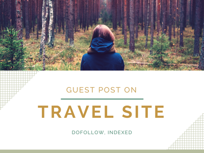 Guest post on travel website