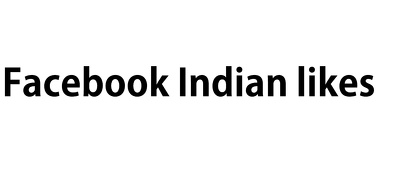 Fesbuk 4k indian likes