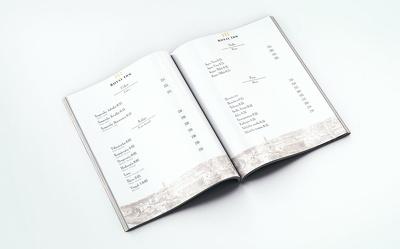 Design elegant, classic resaturant menu  - print ready