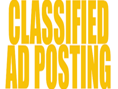 Do CLASSIFIED ads posting
