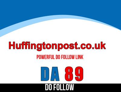 Publish guest post on huffingtonpost.co.uk–huffingtonpost– DA 89
