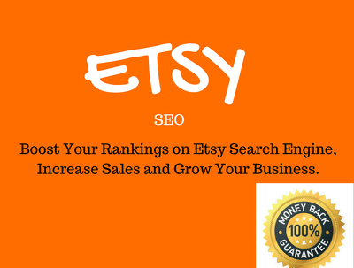 Do ETSY SEO to Improve Your Etsy Shop visibility & Sales