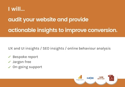 Provide actionable insights to improve conversion on your site