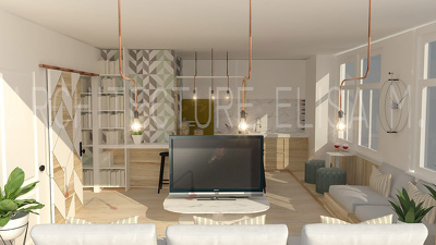 Professional Interior Design and Render of your Apartment