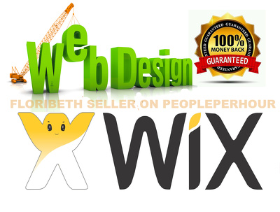 Design 4 Pages Profesional WIX Website