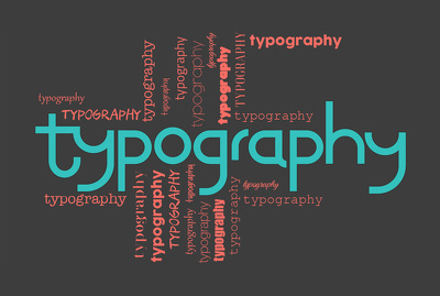 Do unique typography design