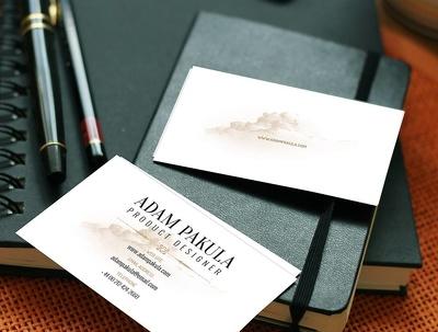 Design versatile business cards