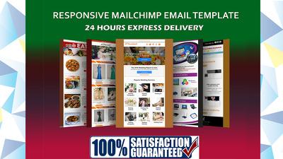 Design An Editable Responsive Mailchimp Newsletter