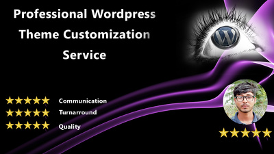 Customize or modify wordpress themes