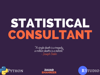 Be your Statistical Consultant