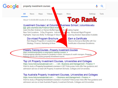 Rank your website on page 1 of google via on page and off page S