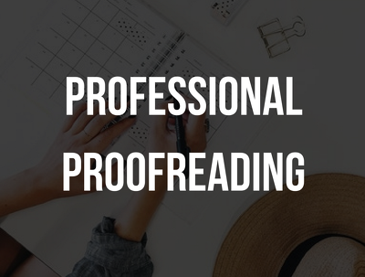 Professionally proofread & edit 1,000 words in 24 hours