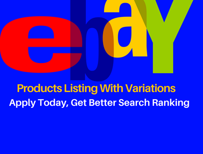 100 eBay Products Listing With Variations