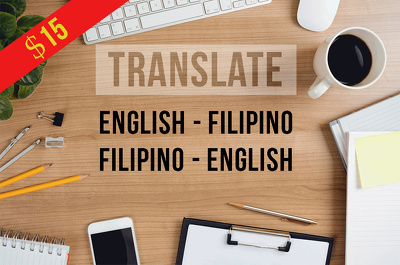Translate 1000 words English < Filipino (Tagalog)