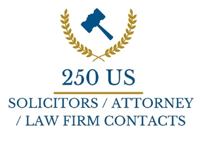 Provide 250 US Solicitor / Law Firm Contacts (Number,Mail etc)