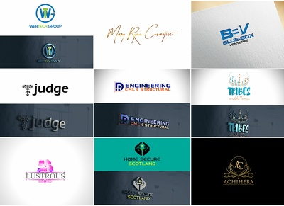 Design creative logo concepts with unlimited revisions+favicon