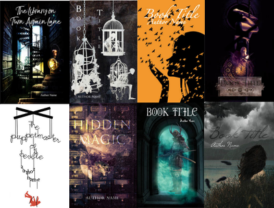 Sell you a premade cover (see examples) edited for your book