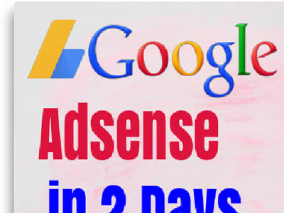 Get you a fully approved google adsense account