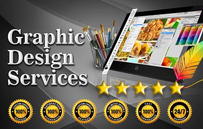 Do custom grahic design work.