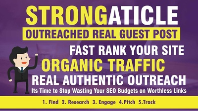 write And Guest Post On Strongarticle.com dofollow backlinks