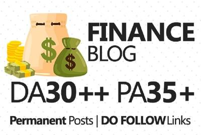 Publish article on Finance site DA70