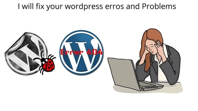 Solve any issue or Bug on your wordpress site
