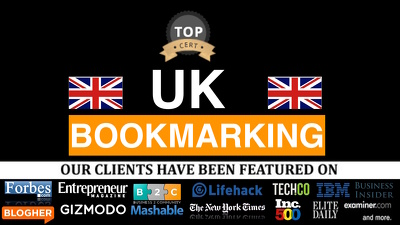 Create 20 British Bookmark Submission With Uk Domains : SEO