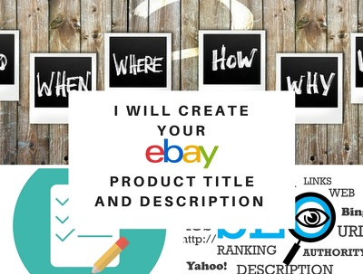 Write one eBay product description and title