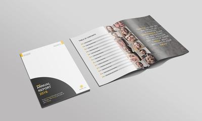 Design professional brochure or catalogue or menu