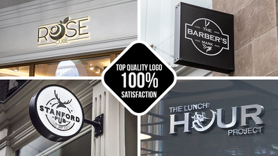 *Premium* Top Quality Logo design to help your Brand Stand out.