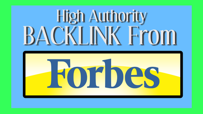 Get You Random High Authority Backlink From FORBES