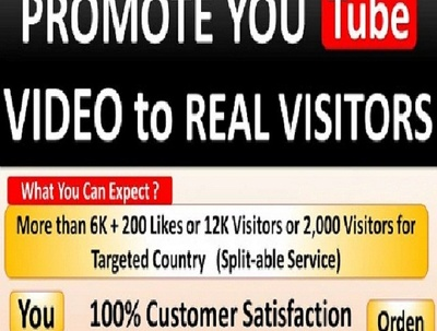 Rank Your Youtube Video, Traffic With Seo, Real Views
